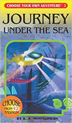 Journey under the sea book cover