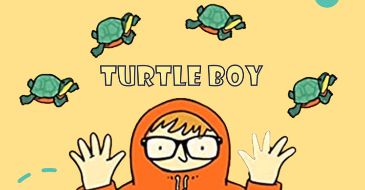 Turtle Boy by Helga