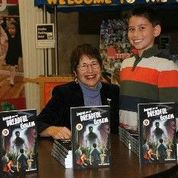 David meets author Karen Goldman!