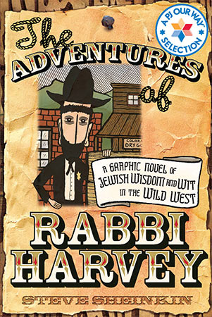 Adventures of Rabbi Harvey book cover