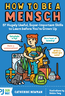 How to be a Mensch bookcover