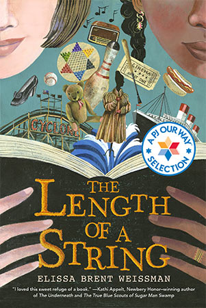 The length of a string book cover