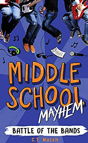 Middle School Mayhem book cover