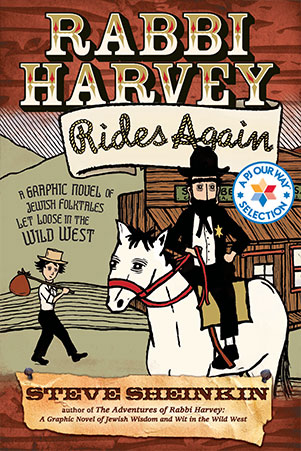 Rabbi Harvey Rides Again book cover