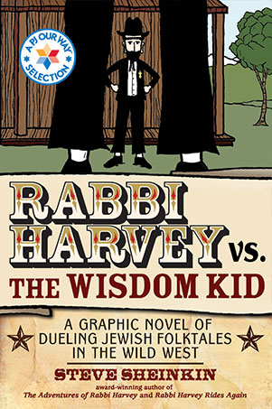 Rabbi Harvey vs the Wisdom Kid book cover