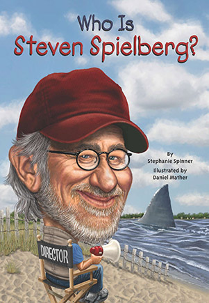 Who is steven spielberg book cover